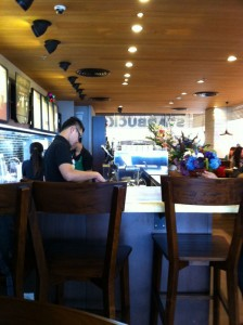 I M Back Starbucks On 3rd Floor Central World Jarern